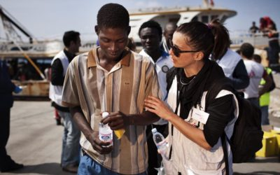 Support Aid to Migrants and Refugees from Africa